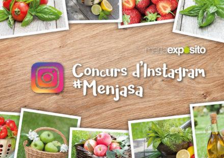 Participa al concurs d'Instagram de la #menjasa aquest estiu!