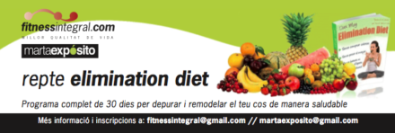 Nova edició d'Elimination Diet